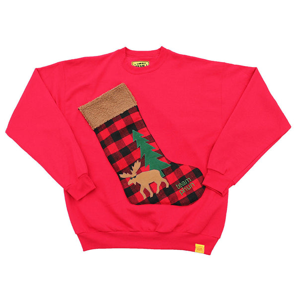 ugly christmas sweater stocking shirt