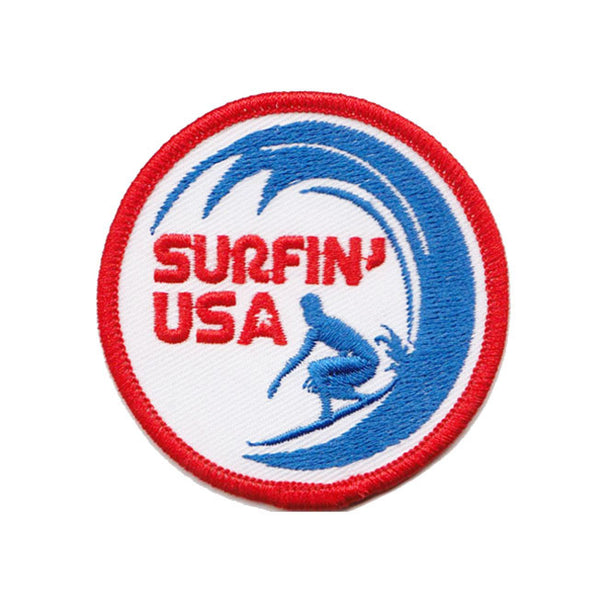 Surfin USA California Embroidered Patch