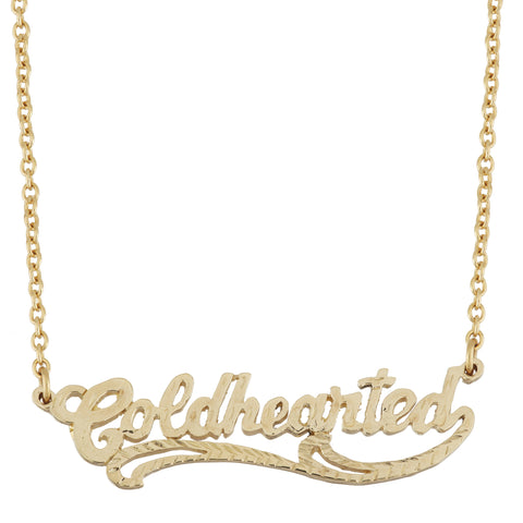 Cold Hearted Necklace