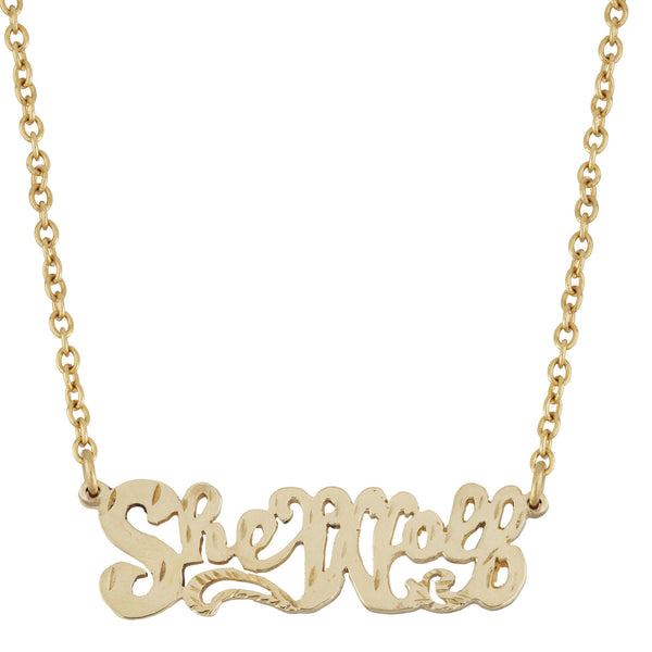 SheWolf Necklace