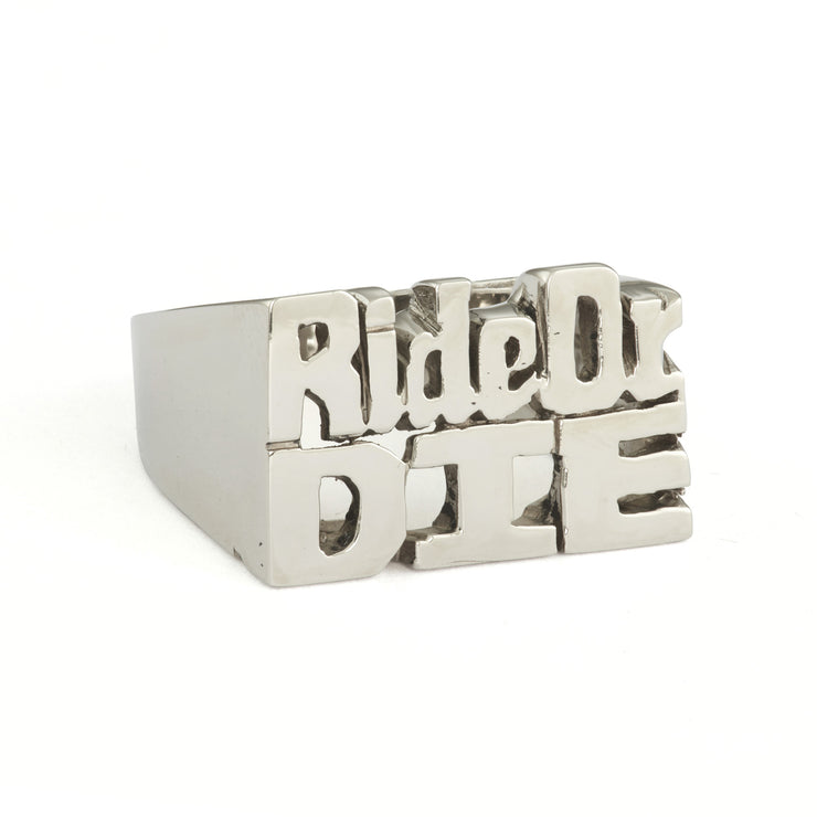 Ride Or Die Ring - SNASH JEWELRY