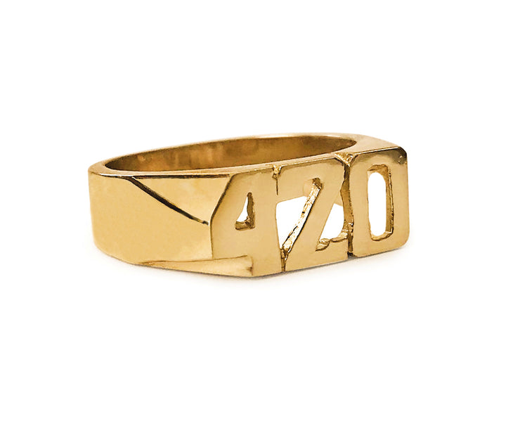 420 Ring - SNASH JEWELRY