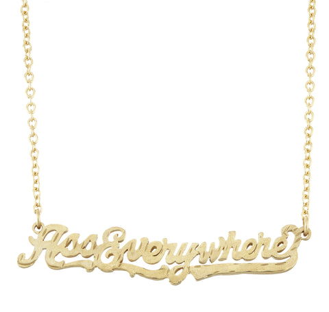 boutique victoire word necklces goldeen golden necklaces products sassy necklace