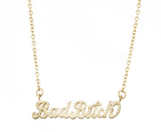 Bad Bitch Necklace - SNASH JEWELRY