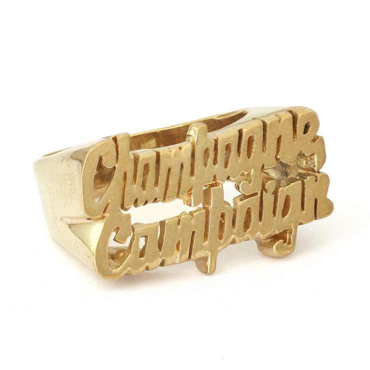 Champagne Campaign Ring