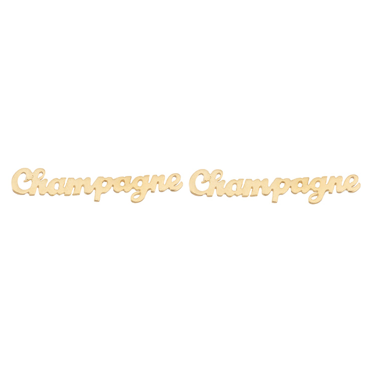 Champagne Earrings - SNASH JEWELRY