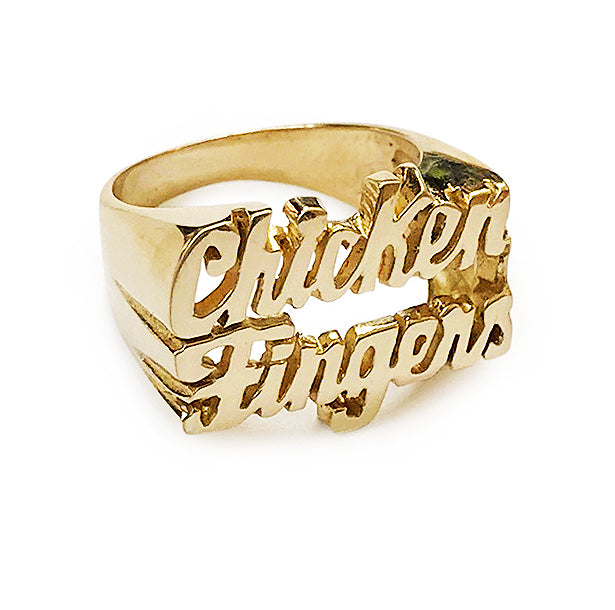 Chicken Fingers Ring - SNASH JEWELRY