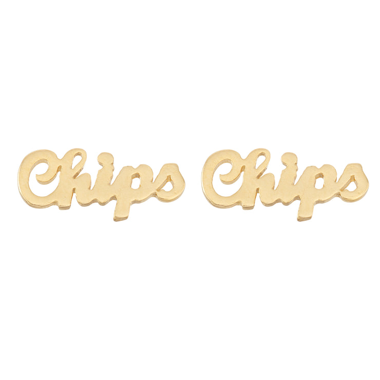 Chips Earrings - SNASH JEWELRY
