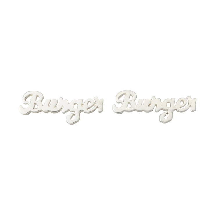 Burger Earrings - SNASH JEWELRY