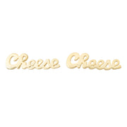 Cheese Earrings - SNASH JEWELRY