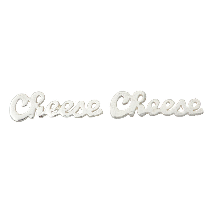 Cheese Earrings