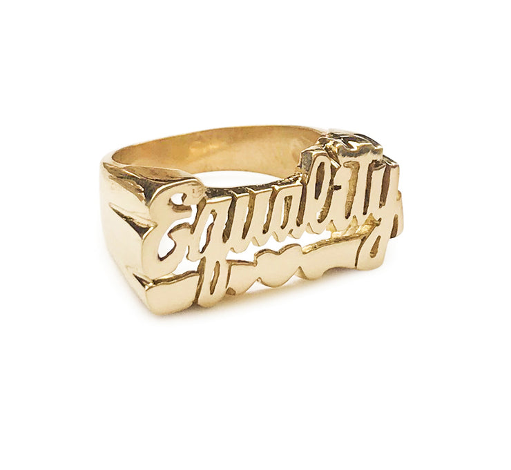 Equality Ring - SNASH JEWELRY