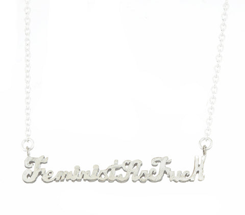 picture amanda lucky stainless blu of word steel necklace