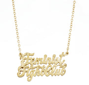 Feminist Fight Club Necklace