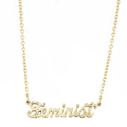 Feminist Necklace - SNASH JEWELRY