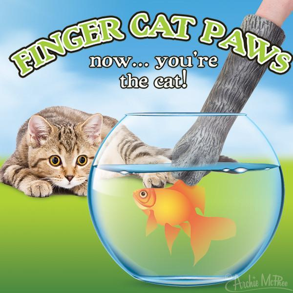Finger Cat Paws - Set of 2 - SNASH JEWELRY