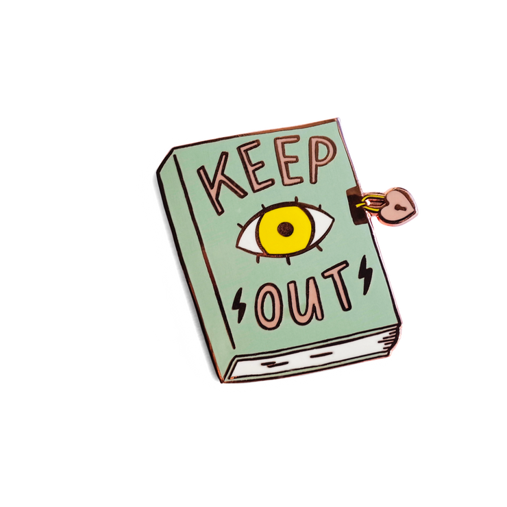 Keep Out Pin - SNASH JEWELRY