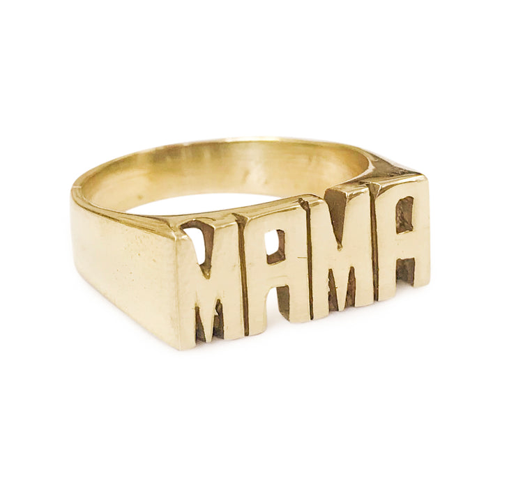 MAMA 2 Ring - SNASH JEWELRY
