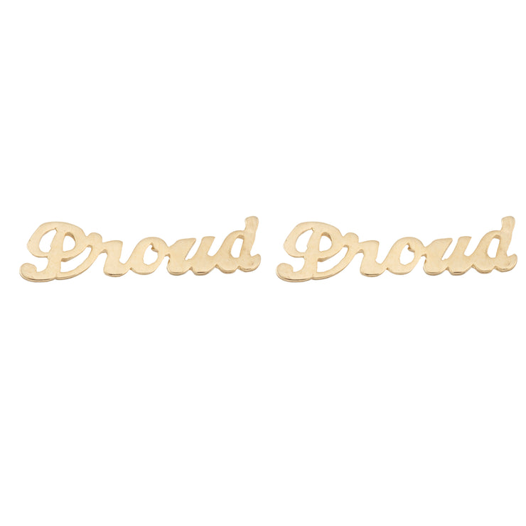 Proud Earrings - SNASH JEWELRY