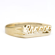 Cheese Ring - SNASH JEWELRY