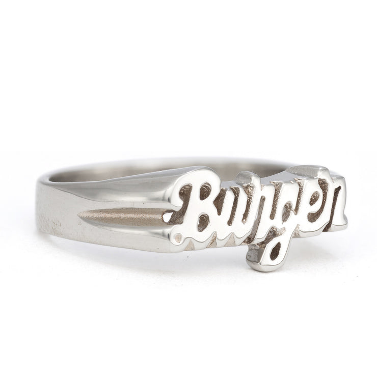 Burger Ring - SNASH JEWELRY