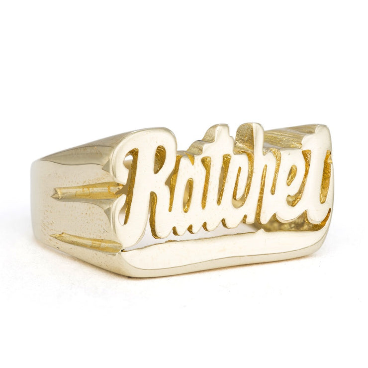 Ratchet Ring - SNASH JEWELRY