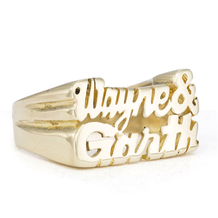 Wayne & Garth Ring - SNASH JEWELRY