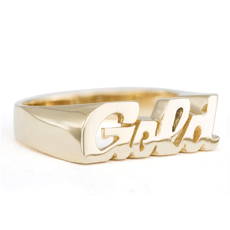 Gold Ring - SNASH JEWELRY