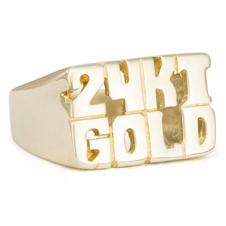 24KT Gold Ring - SNASH JEWELRY