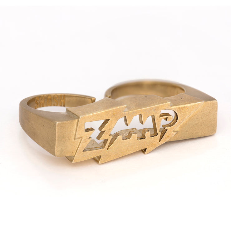 ZAP! Double Finger Ring- Super Sale!