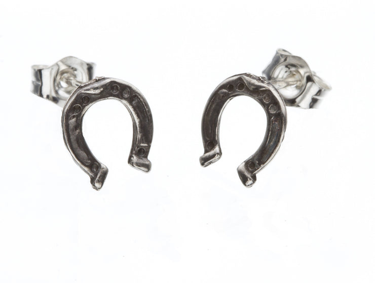 Horseshoe Stud Earrings - SNASH JEWELRY