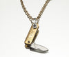 Danger Dagger Knife Necklace - Gold