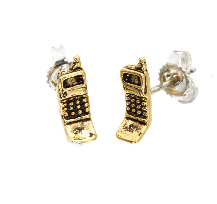 Cell Phone Earrings - SNASH JEWELRY