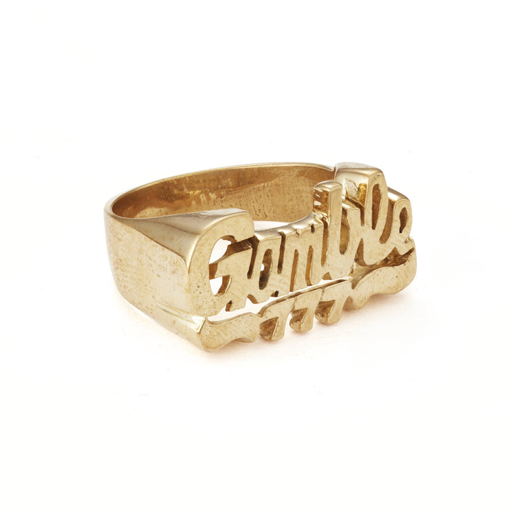 Gamble Ring - SNASH JEWELRY