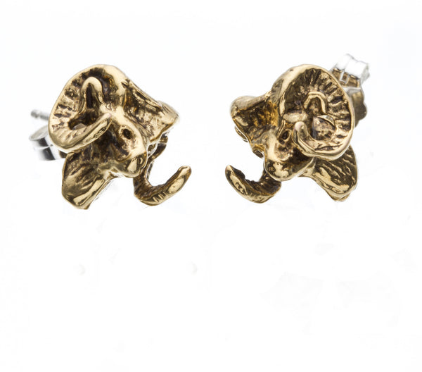Ram Stud Earrings