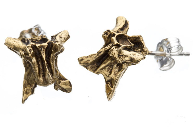 Vertebrae Stud Earrings - SNASH JEWELRY
