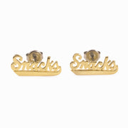Snacks Deluxe Stud Earrings
