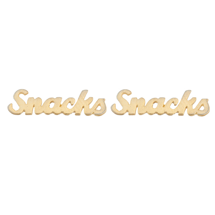 Snacks Earrings - SNASH JEWELRY