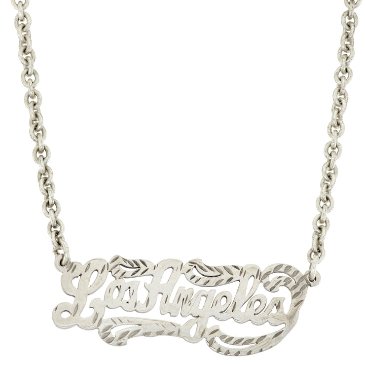 Los Angeles Necklace - SNASH JEWELRY