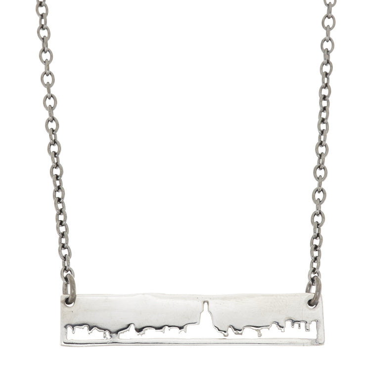 New York City Outline Necklace - SNASH JEWELRY