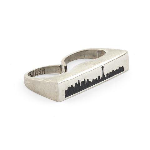 Seattle Double Finger Ring