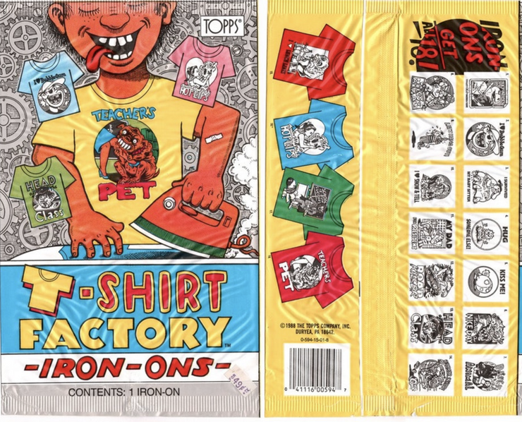 T-Shirt Factory Iron-On Surprise Patch