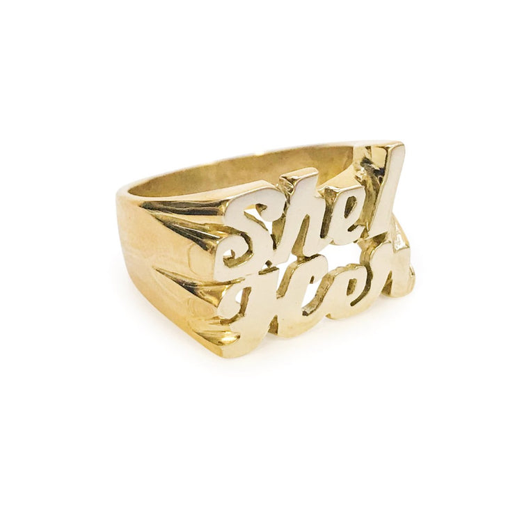 She / Her Ring - SNASH JEWELRY