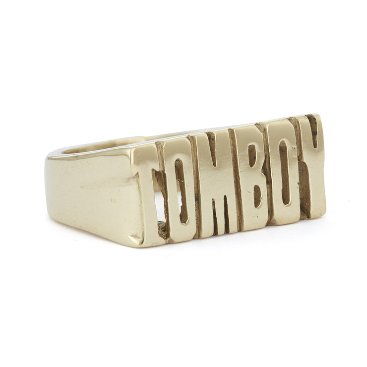 Tomboy 2 Ring - SNASH JEWELRY