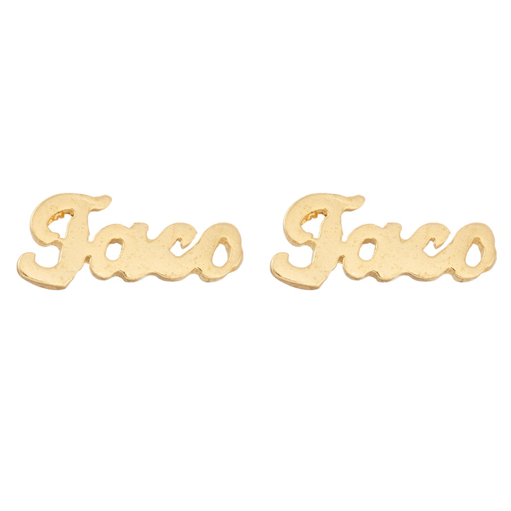Taco Earrings - SNASH JEWELRY