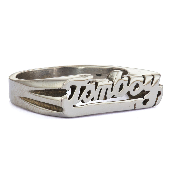 Tomboy Ring - SNASH JEWELRY