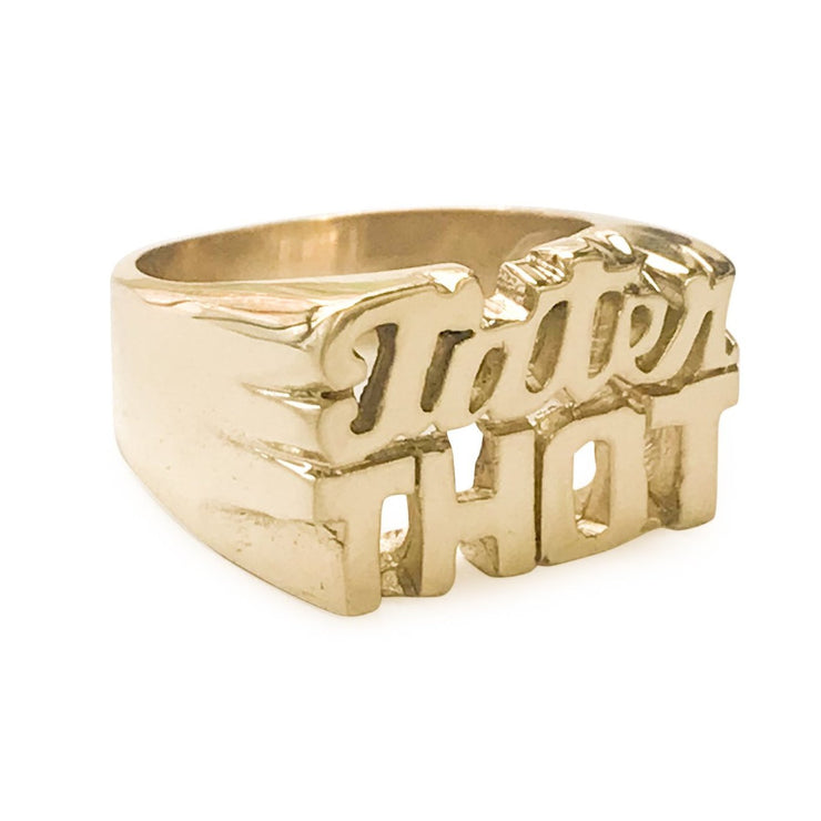 Tater Thot Ring - SNASH JEWELRY