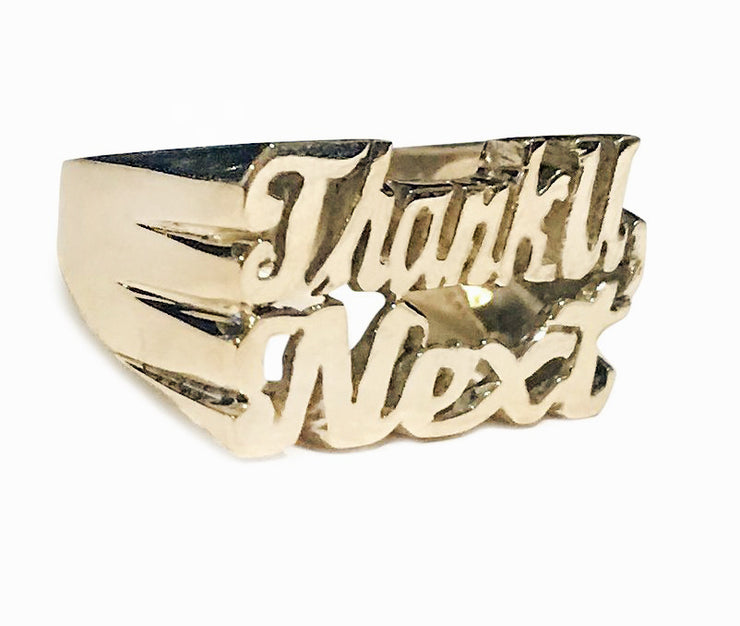 Thank U Next Ring - SNASH JEWELRY