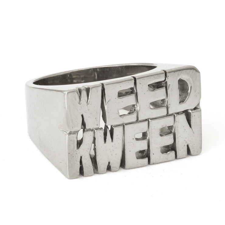 Weed Kween Ring - SNASH JEWELRY