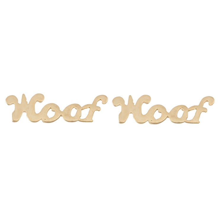 Woof Earrings - SNASH JEWELRY